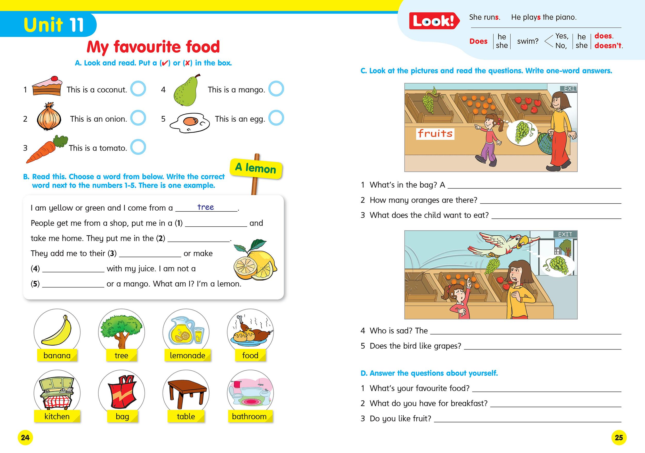 flyers sample test pdf