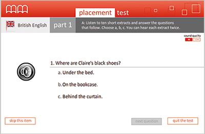 MM Publications - MM Online Placement Test
